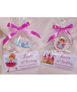 Birthday Girl Personalised Chocolate & Lollypop set