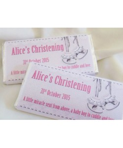Retro Bootie Personalized Chocolate Bar
