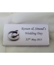 Wedding personalised Chocolates