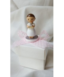 Praying Girl Communion Favour