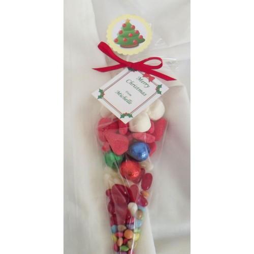 Cellophane Christmas Bags