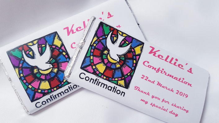 Confirmation Personalised Chocolates